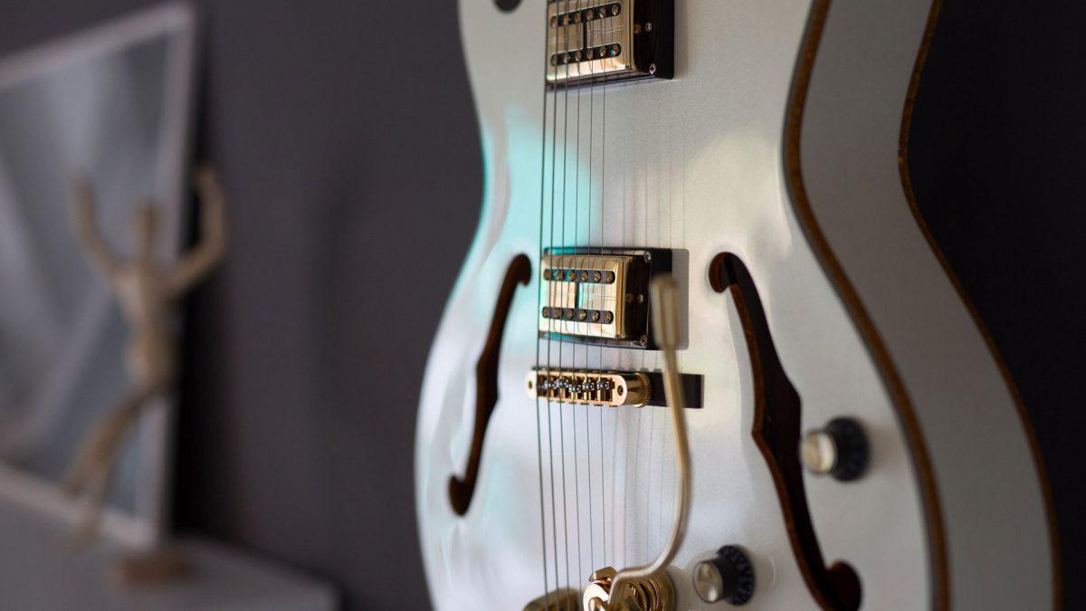 Arredo interni vintage chitarra
