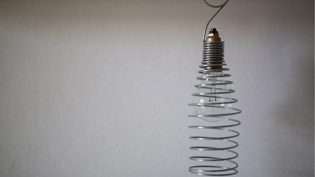 Arredo interni vintage lampada decorativa
