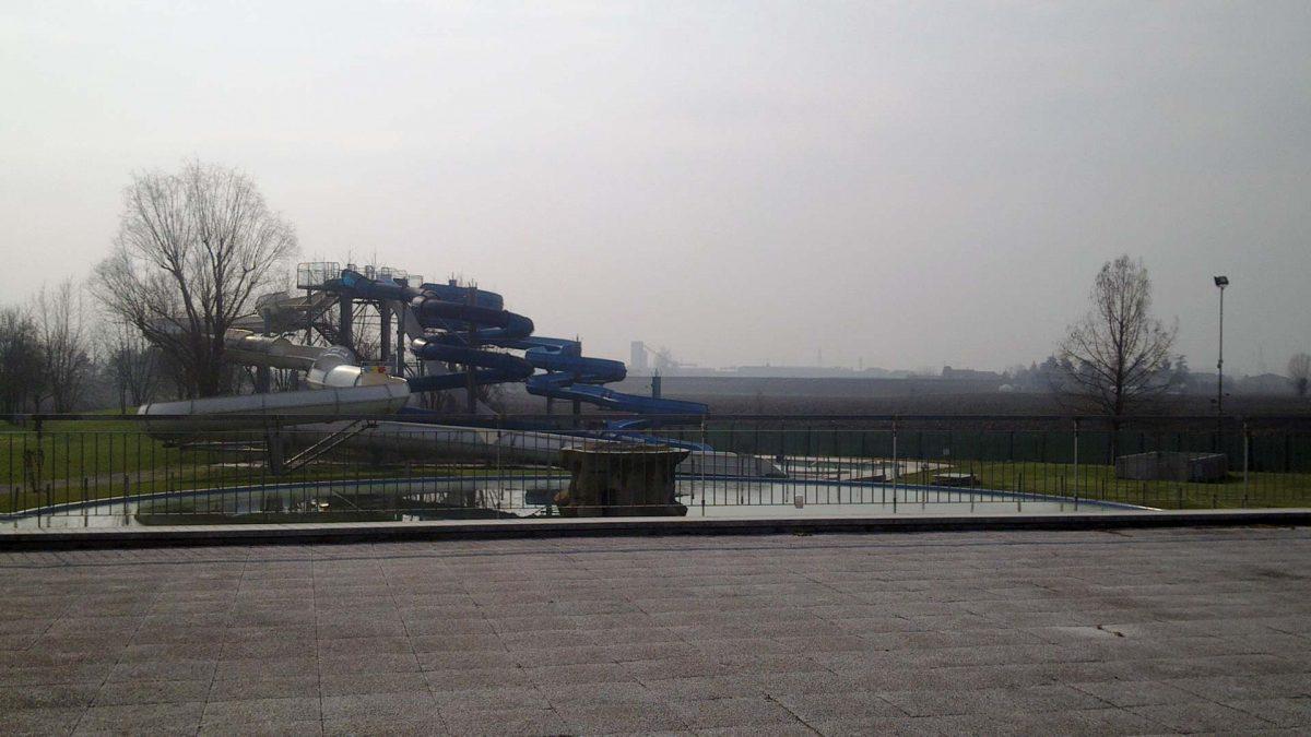 Nuovo impianto fotovoltaico parco termale scivoli