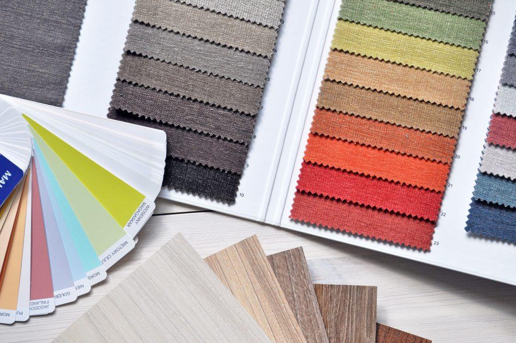 Materiali colori interior design